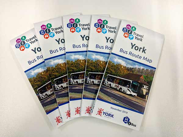 Click to download York Bus Route Map